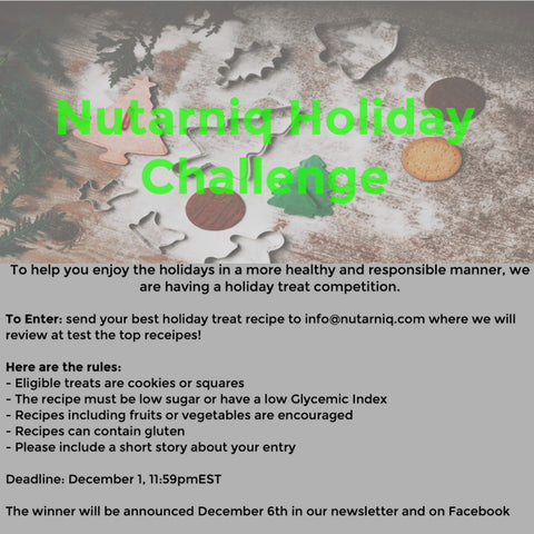 Nutarniq Healthy Cookie Competition