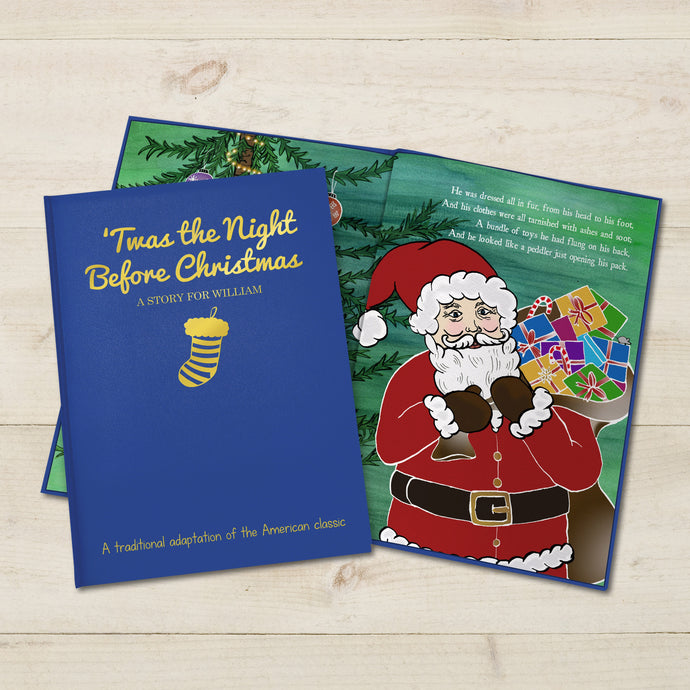 'Twas the Night before Christmas Embossed Classic Hardback
