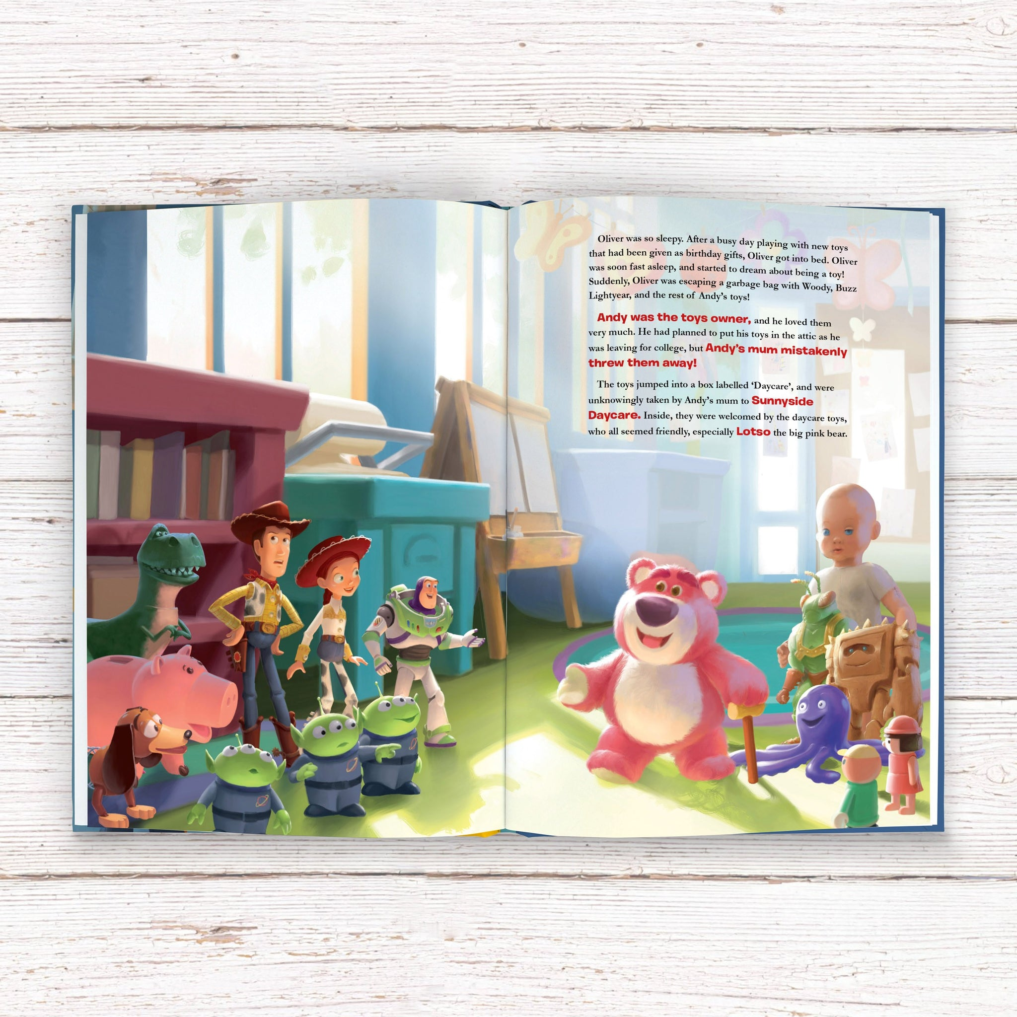 Toy Story 3- Personalised Book – www.justathought.ie