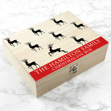 Reindeer Family Christmas Eve Box