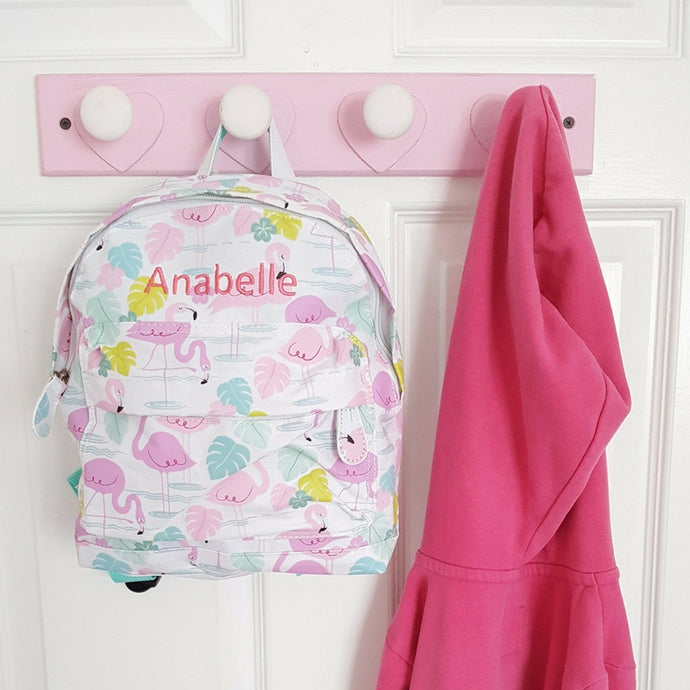 Pink Flamingo Mini Backpack