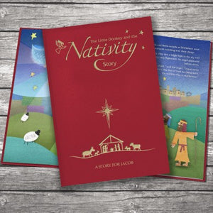 Nativity Story Embossed Classic Hardback