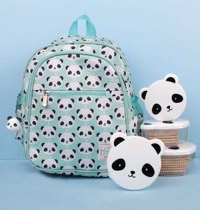 Panda Print Backpack