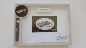 wedding and hen gift signature autograph frame www justathought ie