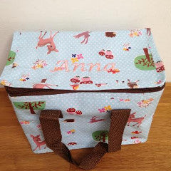 Woodland Personalised Lunch Bag