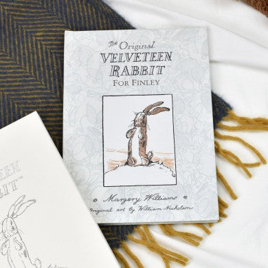 Personalised Velveteen Rabbit First Edition Book