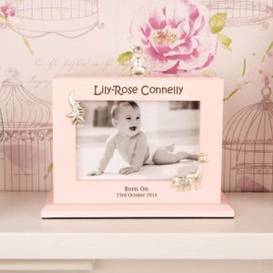 Personalised baby girl photo album