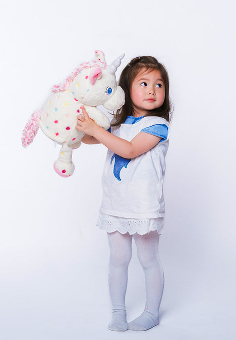 Personalised Unicorn Teddy with Spots