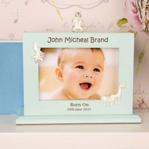 Personalised baby boy photo album