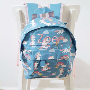 Happy Unicorns Mini Backpack