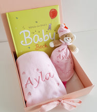 Aladdin - Personalised Baby Gift Set in Pink