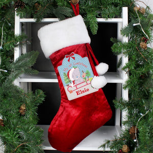 Tiny Tatty Teddy My 1st Christmas Luxury Stocking
