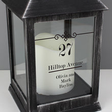 Personalised Black Lantern