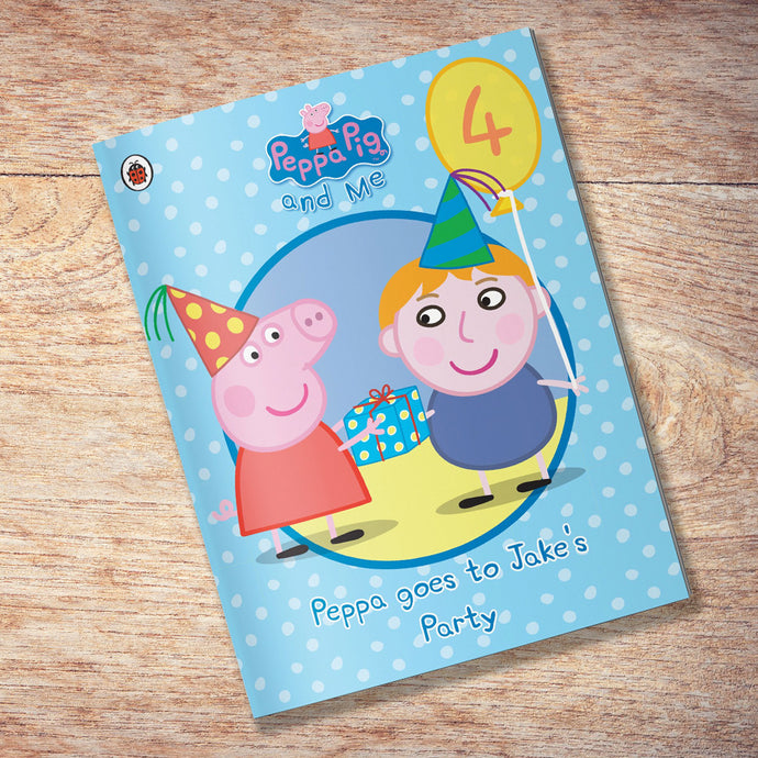 Peppa Pig personalised birthday party book