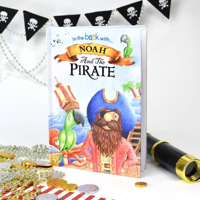 Pirate Personalised Book