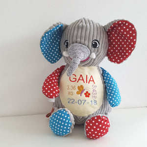 Funky Personalised Elephant