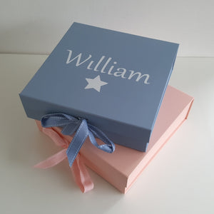Pinocchio - Personalised Baby Gift Set Blue