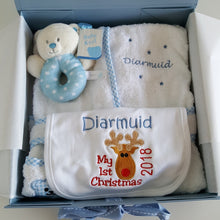 Bambi - Personalised Baby Gift Set Blue