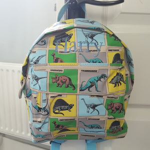 Dinosaur Personalised Mini Backpack