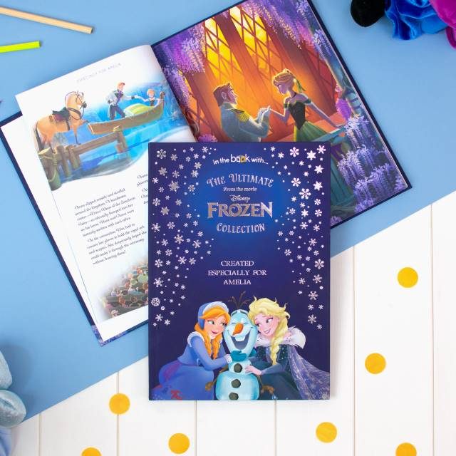Disney Frozen Princess Ultimate Collection - Personalised Book