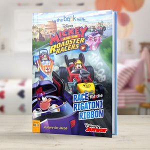 Mickey & The Roadster Racers - Personalised Book