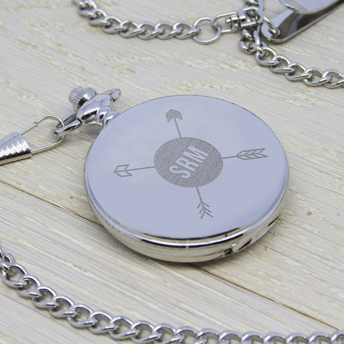 Personalised Monogram Pocket Watch