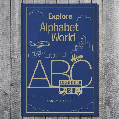 Alphabet World Classic Hardcover