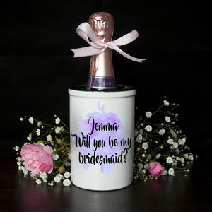 Will You Be My Bridesmaid Mini Champagne Bucket