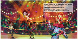 Circus Magic- 2 children Personalised Book