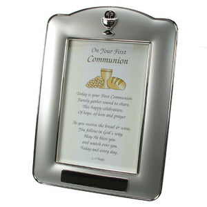 Engraved holy Communion frame