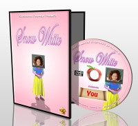 Snow White personalised photo DVD