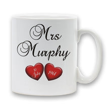 Personalised anniversary mugs