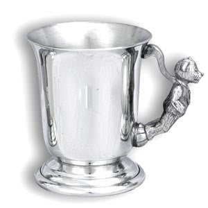 Engraved Bell Teddy Cup