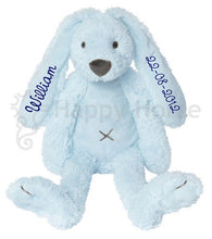 Personalised Rabbit Richie Blue