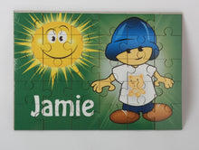 Little boy jigsaw