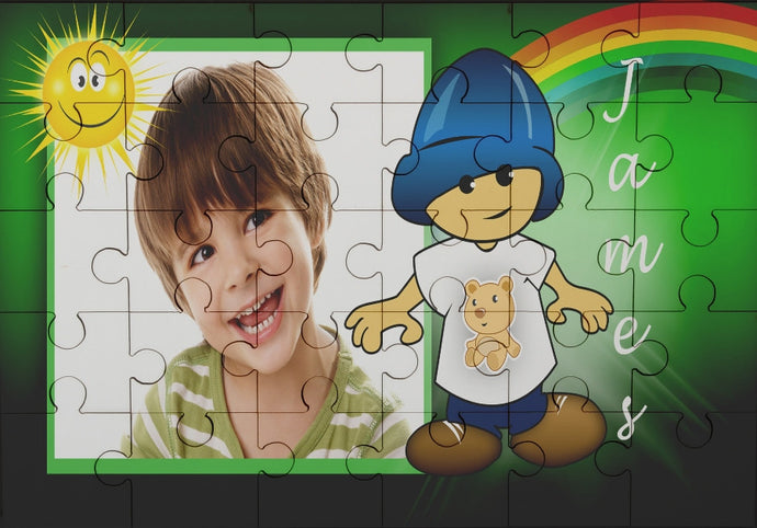 Hey boy photo jigsaw