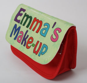 Personalised make-up case