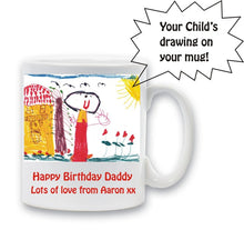 Child's drawing mug