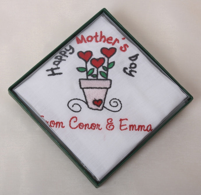 Mother's day handkerchief
