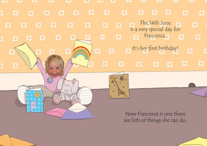 Now you are one! personalised book