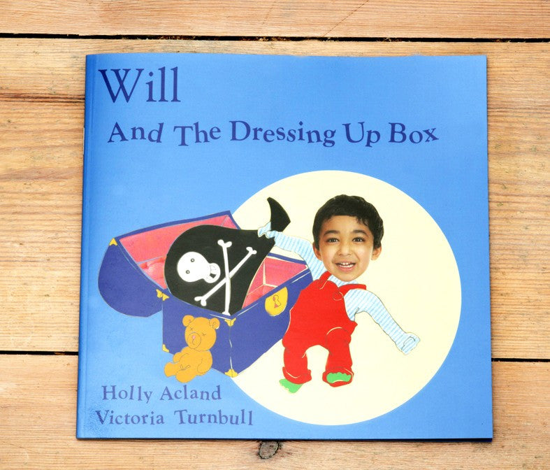 Boys dressing up book