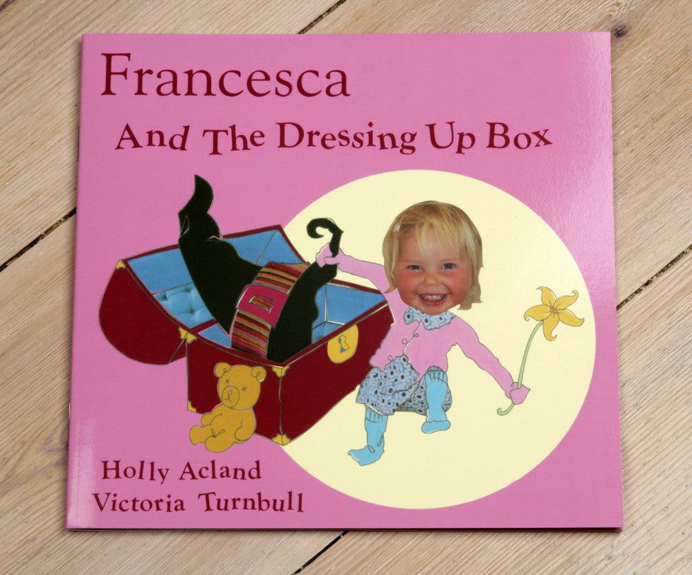 Girl's dressing up book