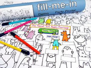 Fill Me In Party Poster