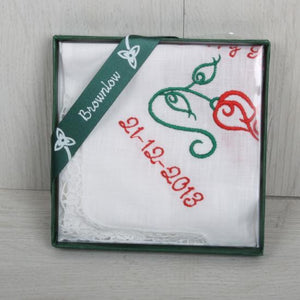 Birthday handkerchief