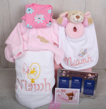 Woody Personalised Gift Set Pink