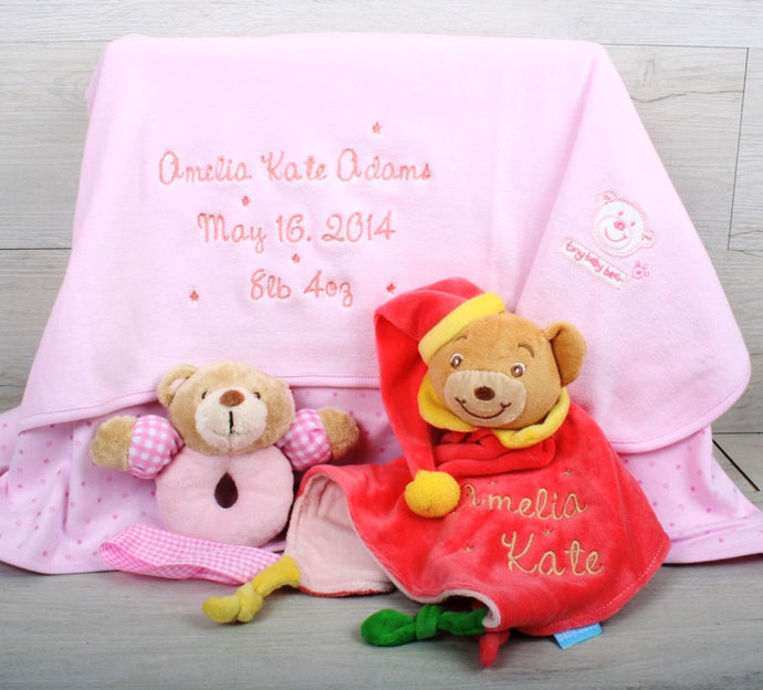 Sparks Personalised Baby Gift Set