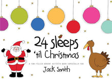 24 sleeps til Christmas personalised activity book