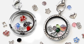 Personalised charm locket
