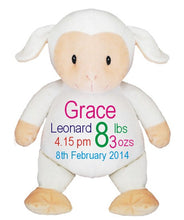 Personalised lamb