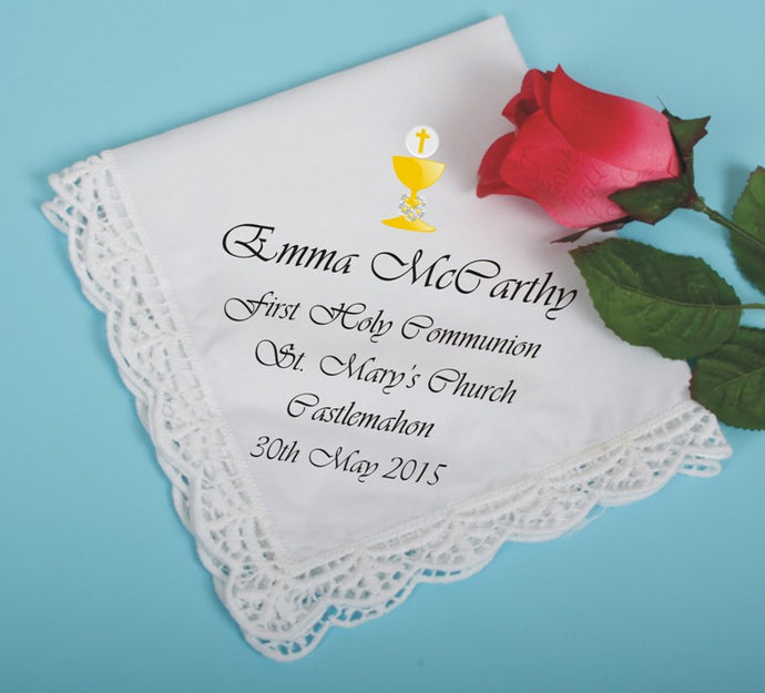 Communion cotton handkerchief